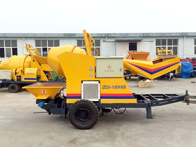 concrete mixer pump manufacturers