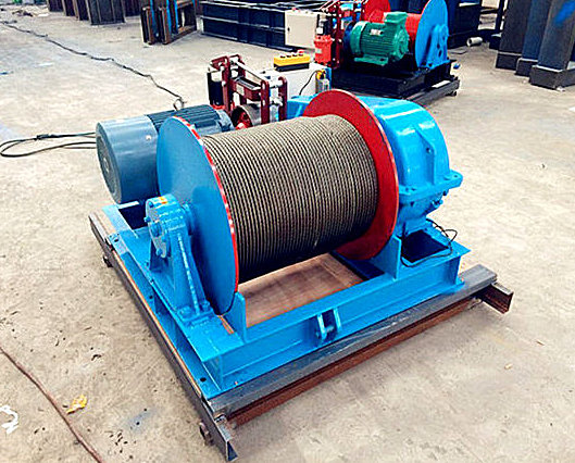 Ellsen construction winch