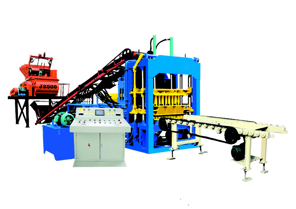 QT4-15D hollow block making machine