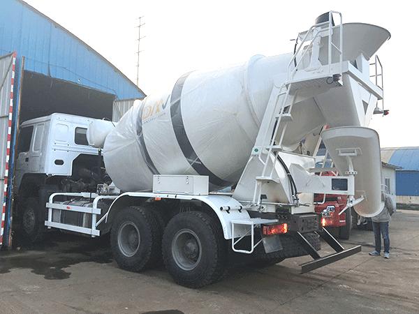 concrete mixer truck manufacturer