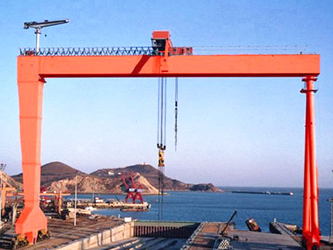 ship building gantry crane of Weihua sale