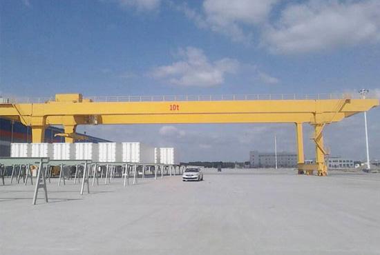Double Girder Crane 10 Ton